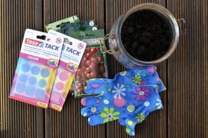 Wysiewanie nasion z płatkami klejącymi tesa Tack