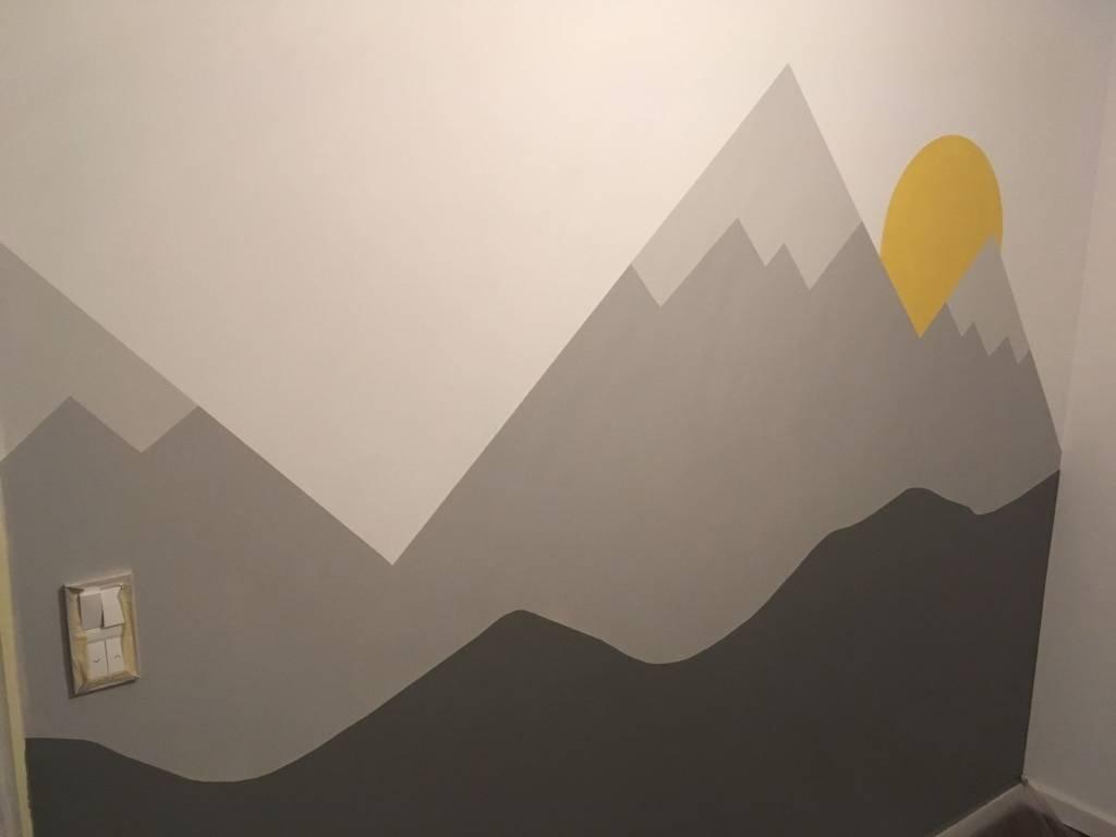 Malowanie - pokój dla Gwizdka