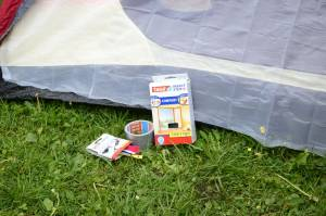 Naprawa namiotu - co jest potrzebne