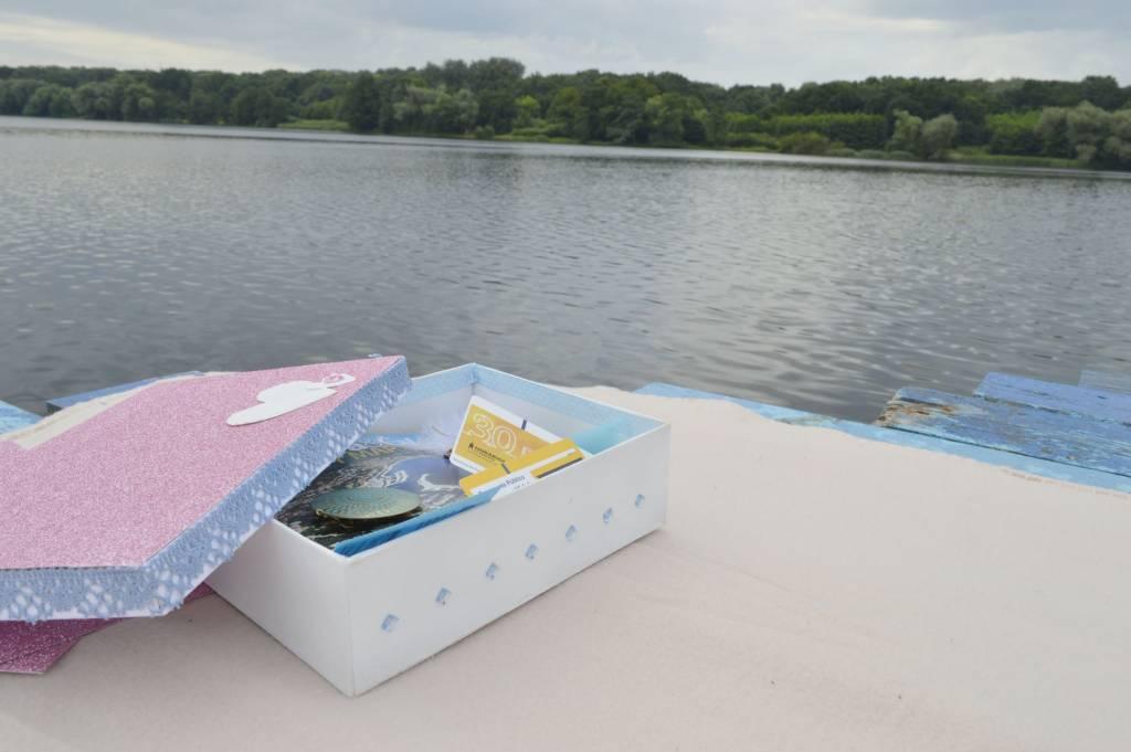 Romantyczne pudełko na pamiątki