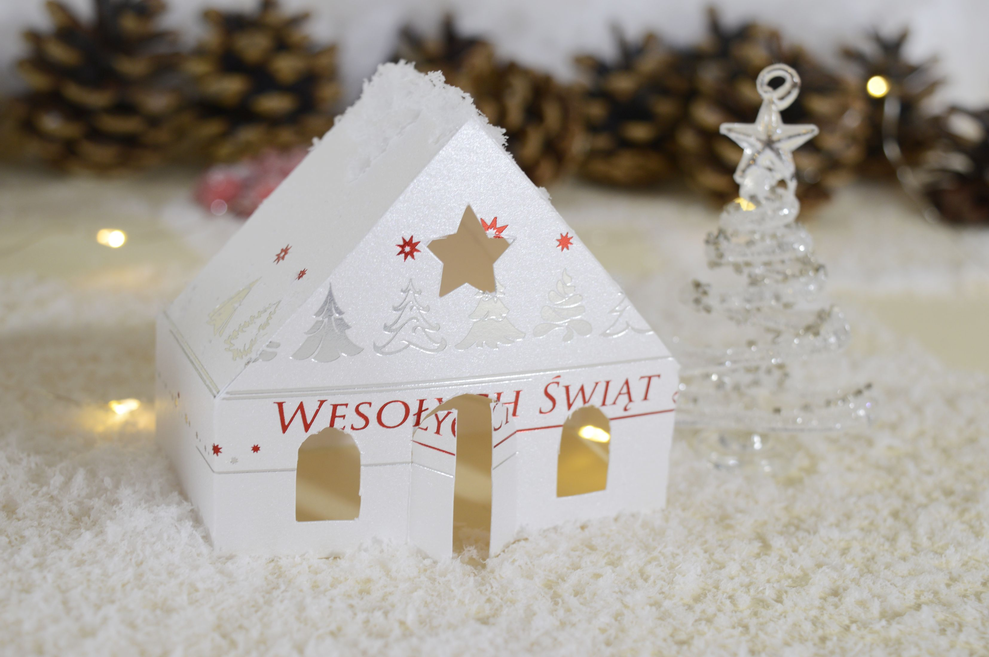 Upcycling kartek świątecznych