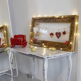 Dekoracje na Boże Narodzenie - ramka świąteczna