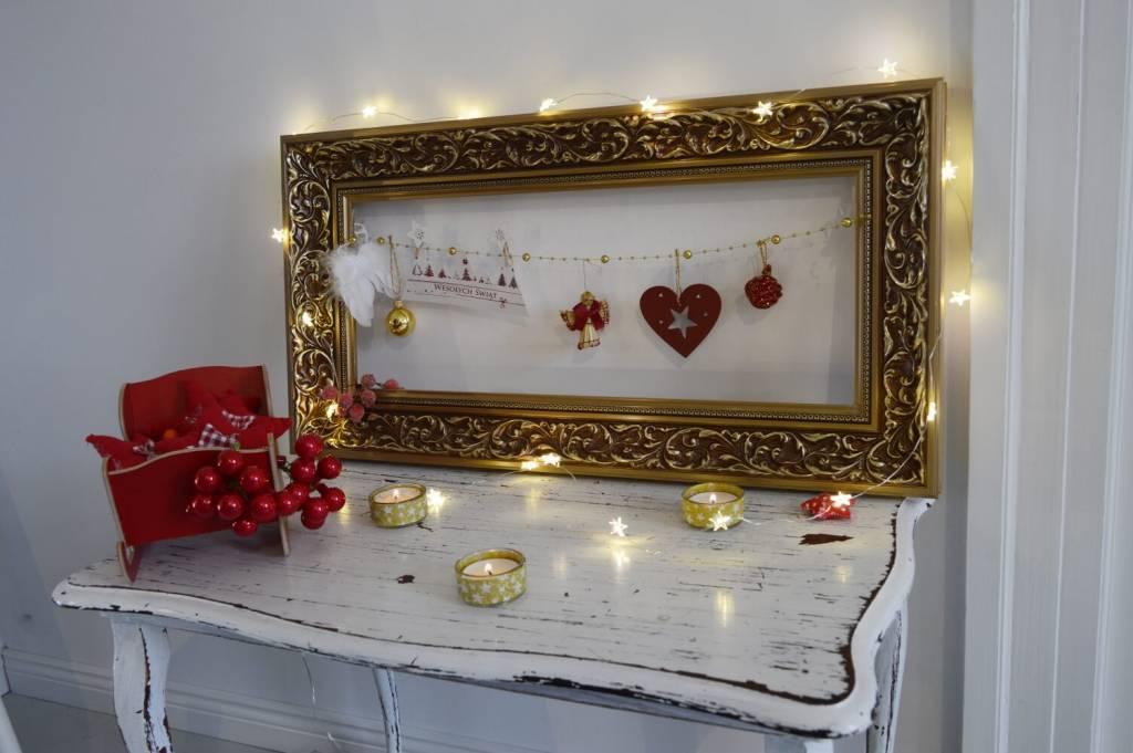 Ramka Świąteczna - dekoracje DIY
