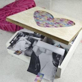 Walentynkowe pudełko pełne wspomnień