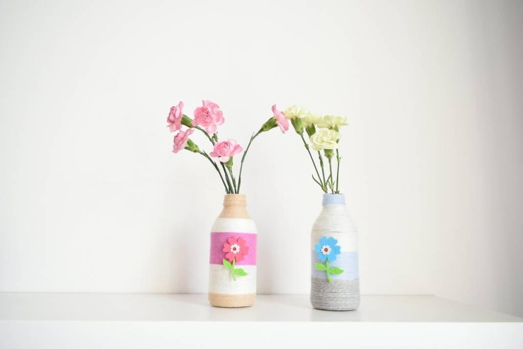 wazoniki z butelek