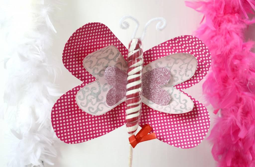 Walentynkowe motylki