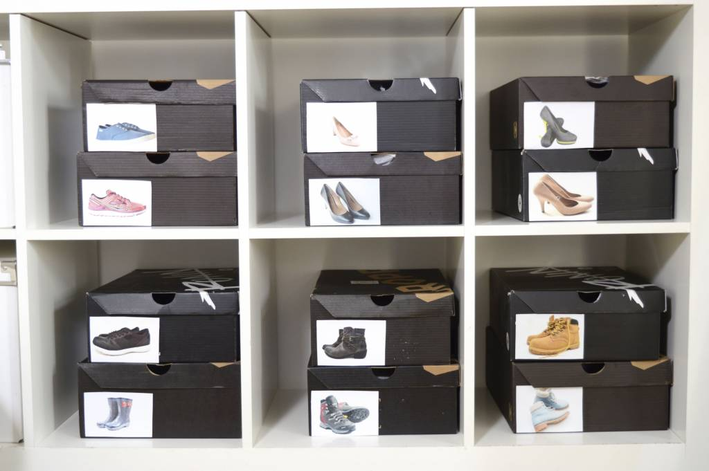 Znakowanie pudełek na buty