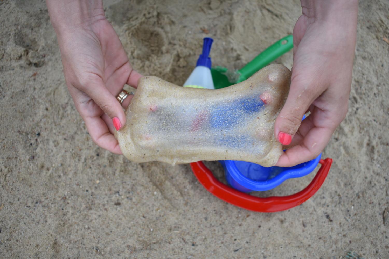 piaskowy slime