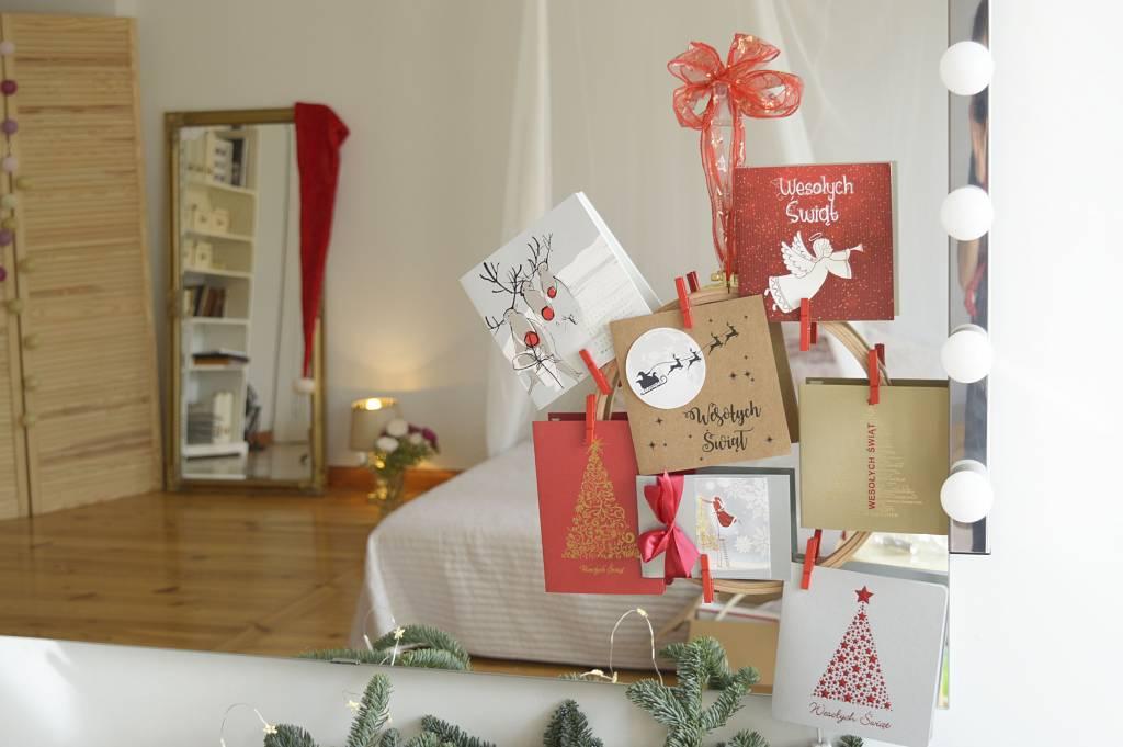 Kartki świąteczne - ozdoba DIY