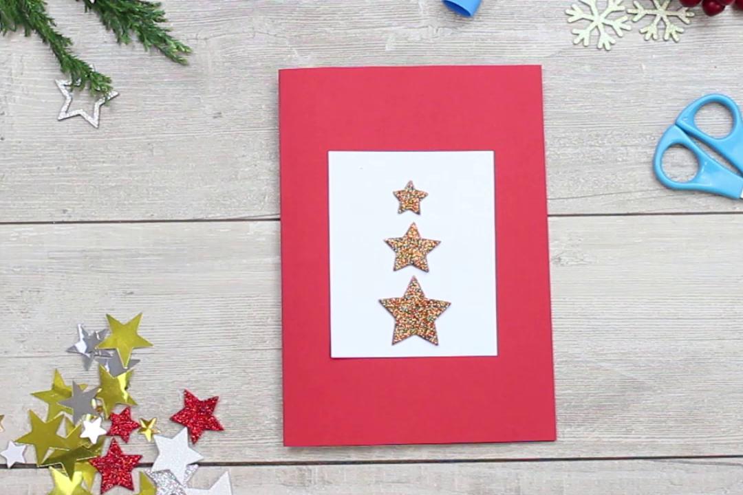trójwymiarowa kartka świąteczna