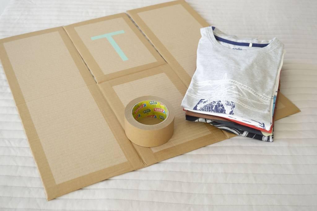 Deska o składania ubrań