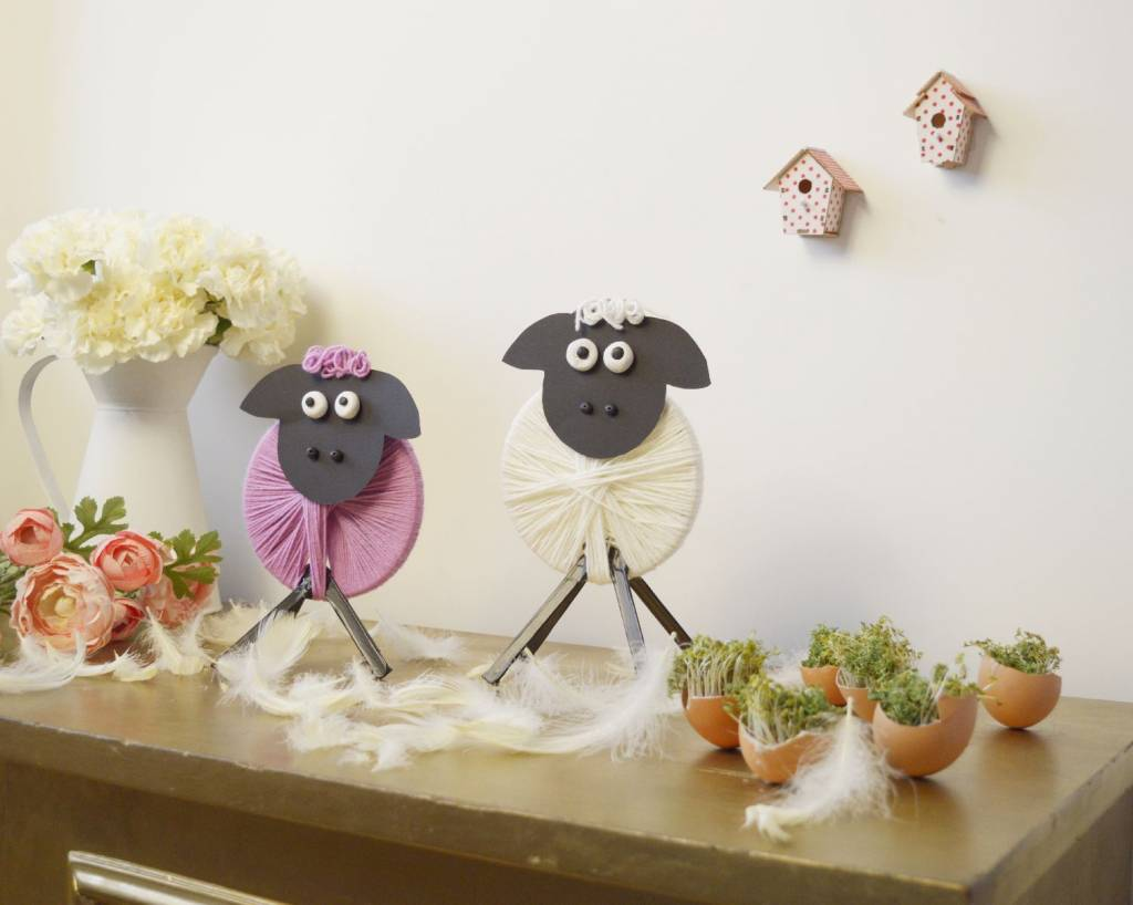 Baranki DIY - dekoracja wielkanocna