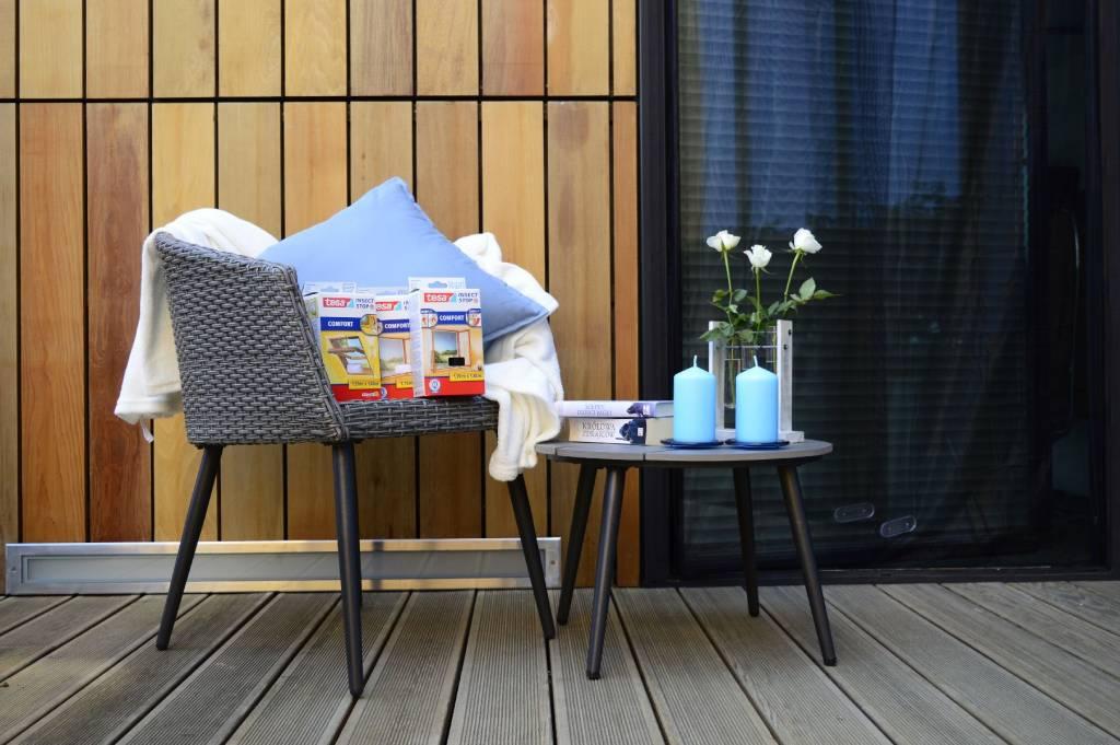 Skuteczna ochrona przed owadami - moskitiera na rzep