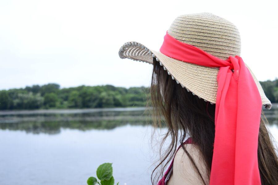 Ozdobny kapelusz DIY