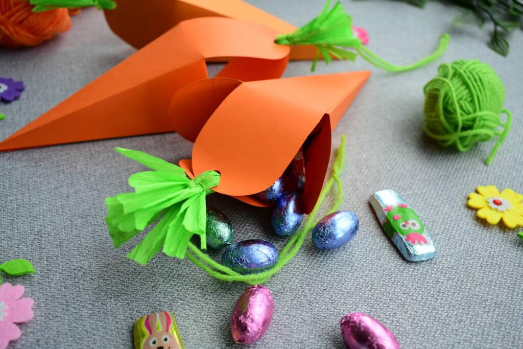 Koszyczki na słodycze DIY